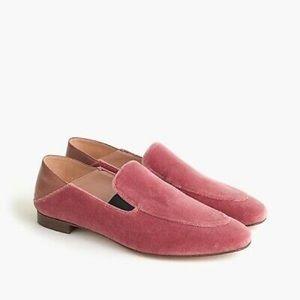 JCrew ConvertibleSmokingSlippersVelvet loafer/mule